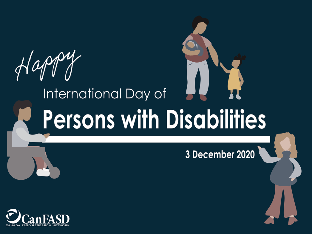 Happy International Day of Persons with Disabilities